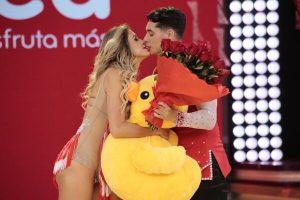 Milett Figueroa recibe sorpresa de amor