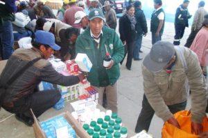 Junín: Minagri entrega kits veterinarios a ganaderos para enfrentar heladas