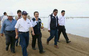 Ministro de Vivienda supervisará trabajos de saneamientos en Cañete