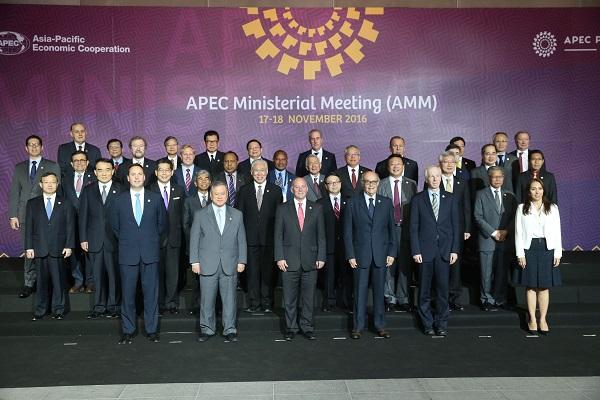 Ministros discuten desafíos de las Economías de APEC
