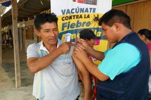 Minsa vacunará a dos millones de personas contra la fiebre amarilla