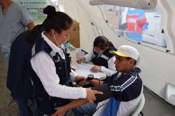 Papa Francisco en Lima: Reportan más de 200 atenciones médicas