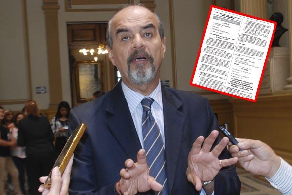 «Ley Mordaza»: Congreso publica ley que restringe publicidad estatal [FOTO]