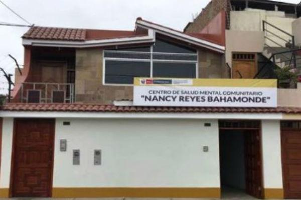 Minsa: Se inaugurará el Centro de Salud Mental Comunitario en Chorrilllos