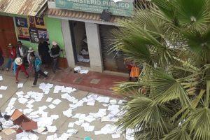 Áncash: Ronderos queman archivos de Fiscalía y Poder Judicial