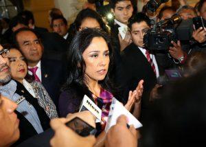 """Nadine Heredia: Comisión Belaunde Lossio se basa en """"chismes y dichos"""""""