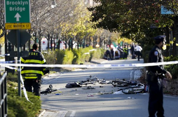 Tiroteo en Manhattan deja 8 muertos y 12 heridos