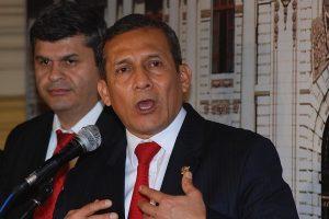 PJ dicta comparecencia restringida contra expresidente Ollanta Humala