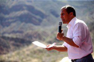 Humala sigue defendiendo a Nadine (video)