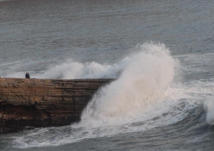 Oleaje anómalo en el litoral peruano causa alarma