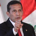 """Ollanta Humala: """"El presidente no debe dejarse estafar o mecer por el Congreso"""""""
