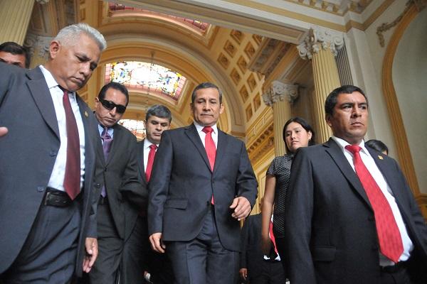 Hay pruebas suficientes para involucrar a Humala