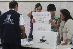 ONPE: Conozca a partir de qué fecha podrás saber tu local de votación