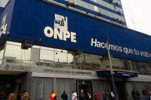 ONPE pide que reforma electoral esté antes de elecciones de 2018