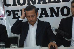 Ollanta Humala: Comisión Madre Mía visitará a expresidente por segunda vez