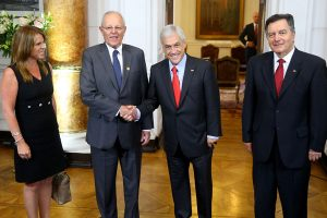 Kuczynski y Piñera sostuvieron reunión