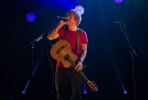 Ed Sheeran fue atropellado en Londres