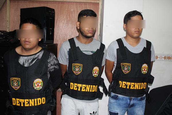 """Capturan a cuatro integrantes de """"Los Malditos del Callao"""""""