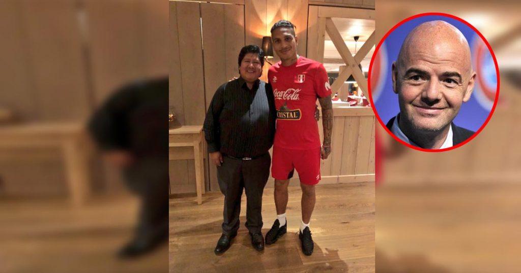 Paolo Guerrero: Edwin Oviedo afirma que presidente de FIFA es admirador del capitán