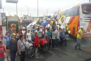 Papa Francisco en Perú: Fieles llegan a la Av. Brasil para esperar al Sumo Pontífice