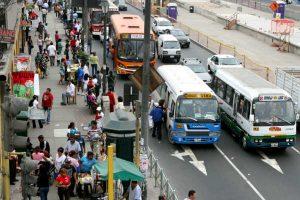 Paro de transportistas se realizará mañana en Lima y Callao