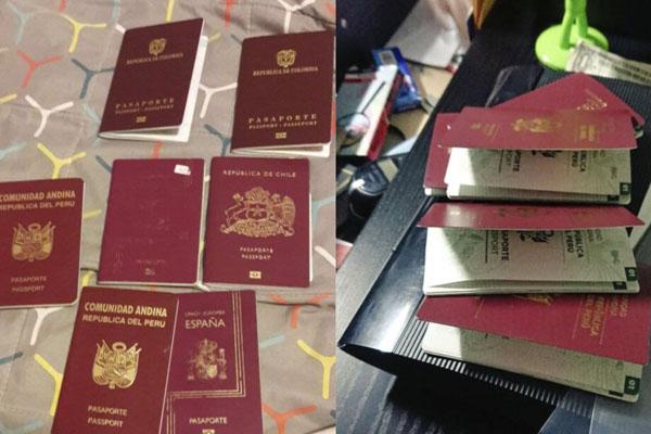 Falsificaban pasaportes chilenos en Lima y Tacna