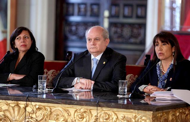 Cateriano sacó cara por Ollanta Humala