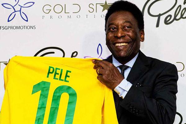 Pelé cree que Brasil sí puede ganar el Mundial Rusia 2018