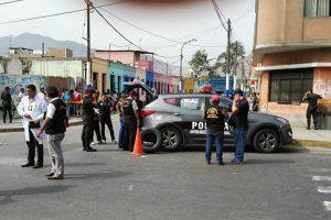 Cercado de Lima: Joven es asesinado de tres disparos frente a su enamorada