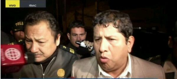 Rímac: Piden prisión preventiva para policía que atropelló a pareja de esposos