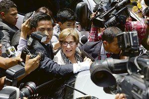 Justicia acorrala a Susana Villarán