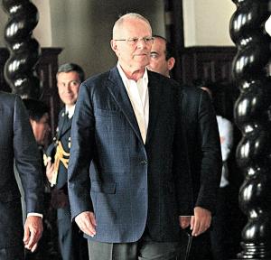 Kuczynski será interrogado hoy en Palacio