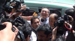 Jorge Cuba: lo que no se vio de su traslado a la Sala Penal Nacional [FOTOS]