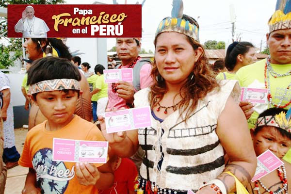 Papa Francisco en Perú: Gran expectativa en Puerto Maldonado por llegada del Santo Padre (fotos)