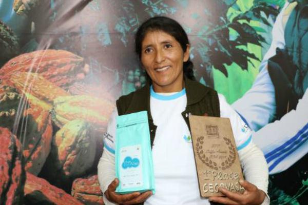Puneña gana Premio Mundial al Mejor Café de Calidad