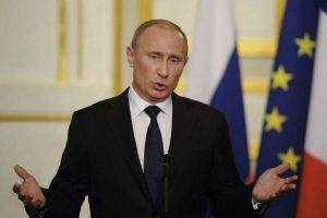 """Vladimir Putin: """"Ataque a Siria amenaza el sistema de relaciones internacionales"""""""