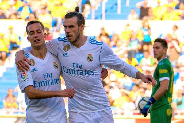 Real Madrid golea a domicilio a las Palmas en la Liga Española