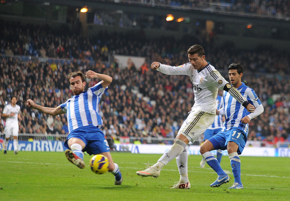 Real Madrid vs. Real Sociedad por la Liga BBVA (3-0)