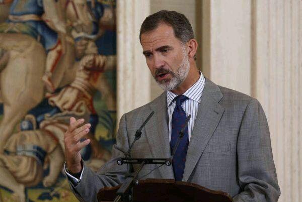 Cataluña: Rey Felipe VI se pronuncia tras protestas