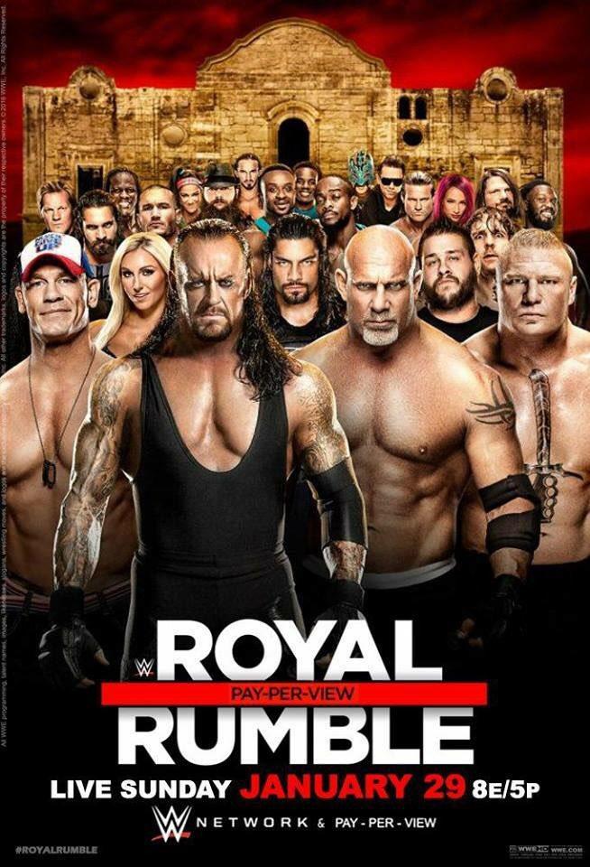 Royal Rumble:Undertaker y Goldberg en evento de WWE [VIDEO/FOTOS]