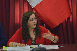 """Rosa Bartra pone """"en pausa"""" su proyecto de ley """"Modalidades formativas laborales"""""""