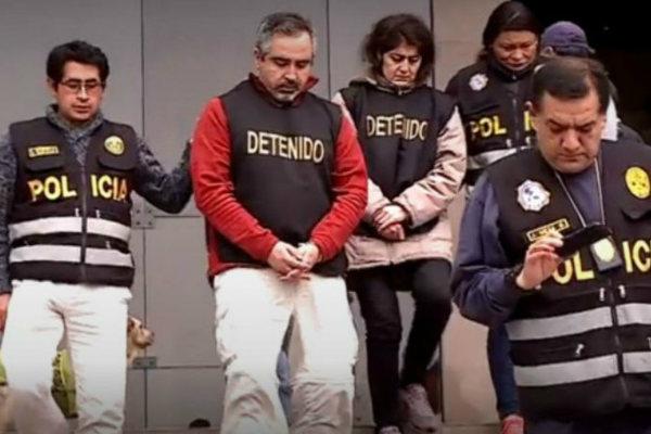 Trasladan a esposos chilenos a penales del Callao y Ancón