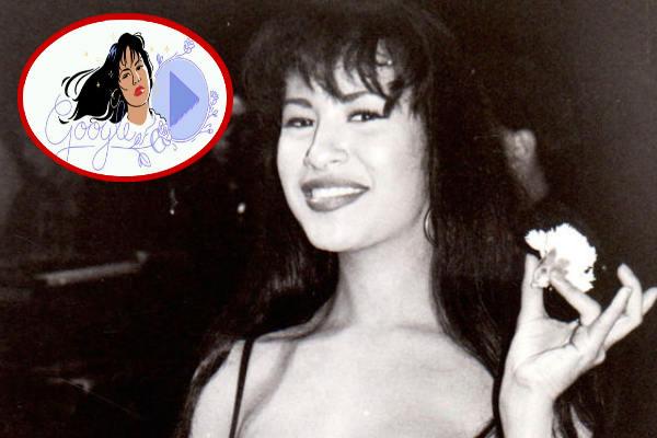 Selena Quintanilla: Google la homenajea con doodle musical