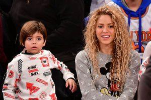 Shakira se puso a derecho