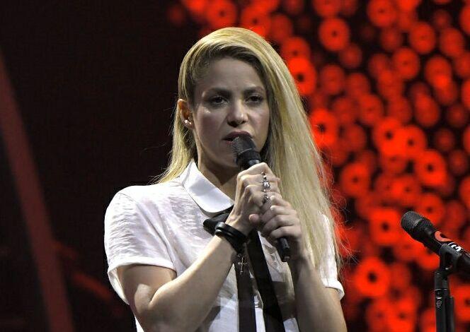 "Shakira: ""Trabajen por el futuro de los niños"""
