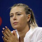 Sharapova se ausenta del Abierto de EE. UU.