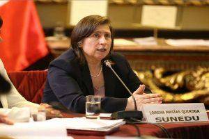 Titular de Sunedu asistirá a Comisión de Educación