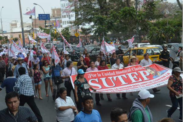 Sutep: Anuncian huelga nacional para el 18 de junio