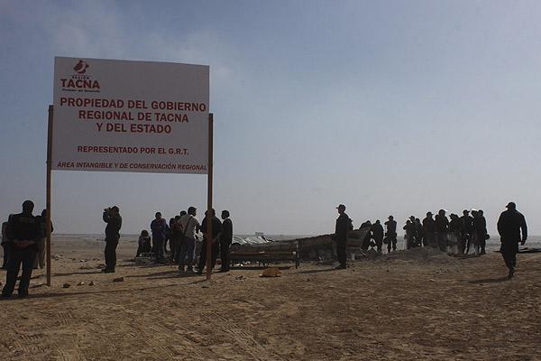 Acusan por tráfico de tierras a alcalde de Tacna