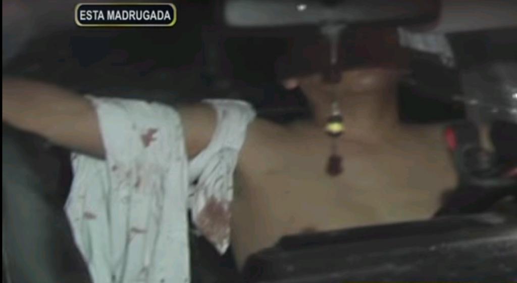 Un policía disparó contra taxista